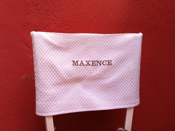 Le comptoir de philomene - Un dossier de chaise ...
